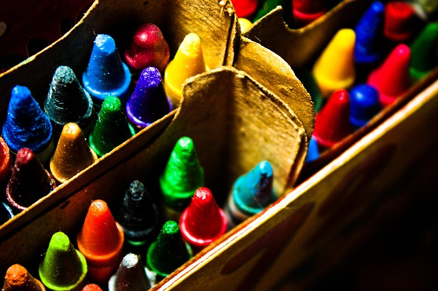 Different colours, by Gari