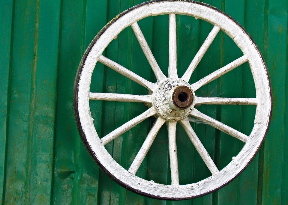 A wheel.