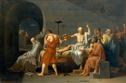 David, The Death of Socrates