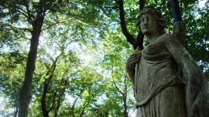 The goddess Artemis. Photo by Jason Youngman [Public Domain, CC0]