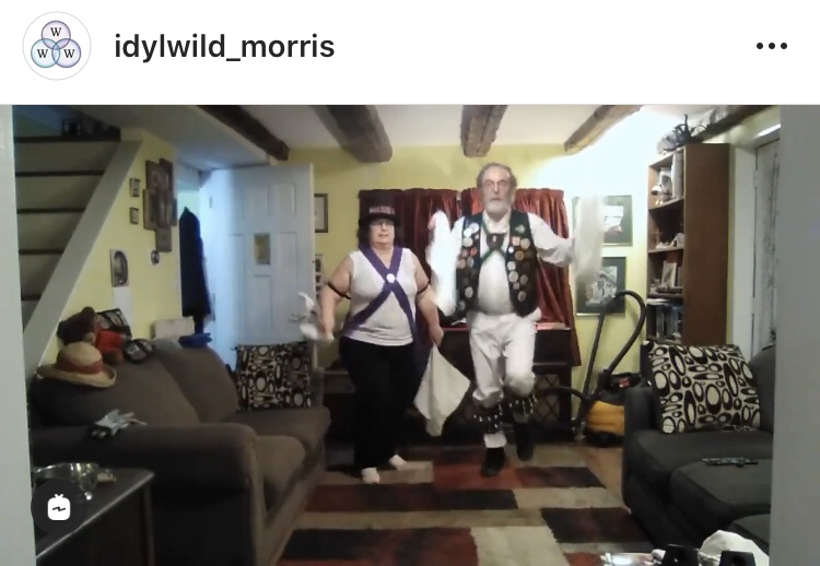"My first ""public"" Morris dance"